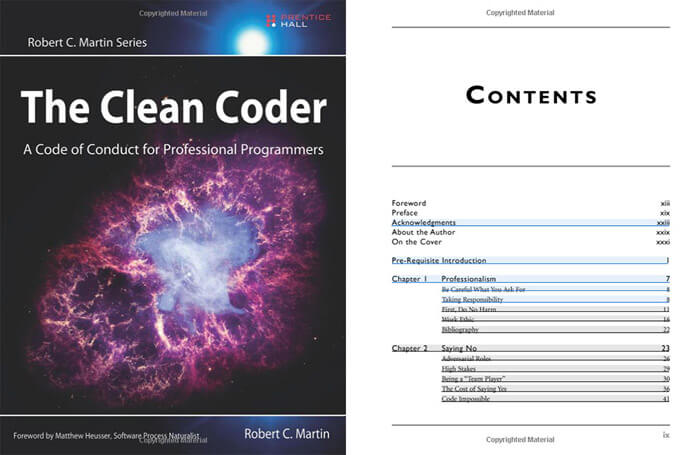 The Clean Coder by Robert Martin