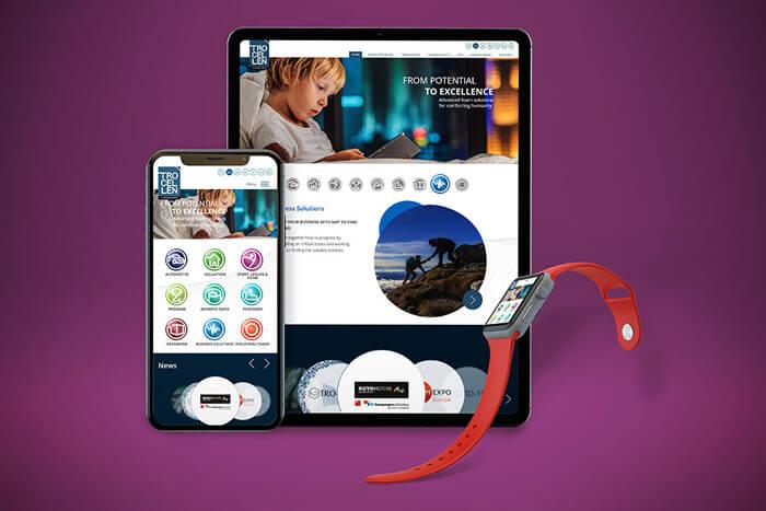 A Trocellen GmbH multisite fejlesztése WordPress alapokon