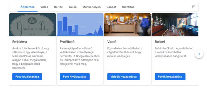 Fotók és fényképek feltöltése a Google Cégem oldaladra