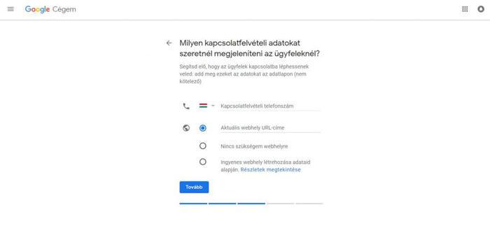 A végéhez közeledik vállalkozásod regisztrációja a Google Cégem rendszerébe