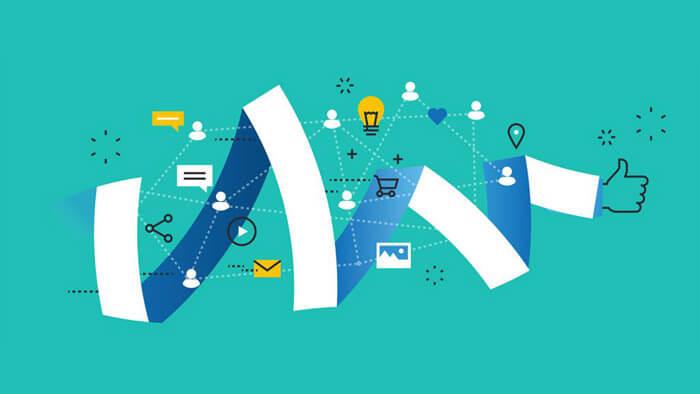 Közösségi média üzenetek címkézése hashtag segítségével