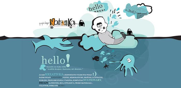 Doodle webdesign