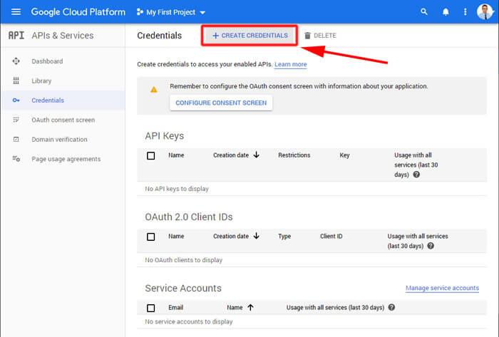 Google Maps Javascript API regisztráció vége